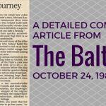 Second Pride First Journey Blog Header October 1988 Baltimore Sun (1)
